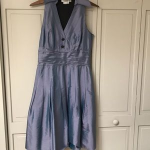 Kay Unger Silk Cocktail Dress Size 6